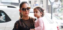 Mira and Misha Kapoor snapped at Play school