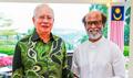 Rajinikanth Meets Malaysian PM