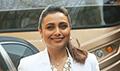 Rani Mukherji snapped promoting Hichki