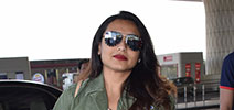 Rani Mukerji snapped at the airport