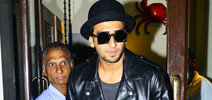 Ranveer Singh snapped post dinner at Bastian