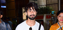 Shahid Kapoor and Others snapped at the airport