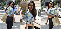 Soundarya Sharma snapped in Andheri