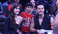 Tiger Shroff and Disha Patani snapped promoting Baaghi 2 on sets of Super Dancer Chapter 2