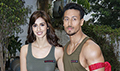 Tiger Shroff and Disha Patani snapped at Baaghi 2 promotions