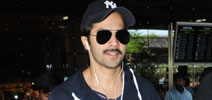 Varun Dhawan at the airport