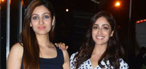 Yami and Surilie Gautam snapped post a shoot in suburbs