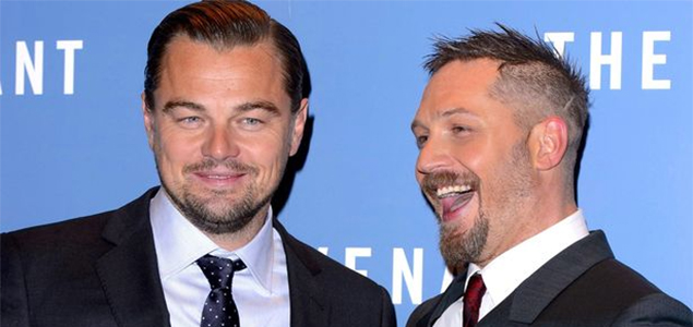 Tom Hardy to get inked by DiCaprio after losing bet