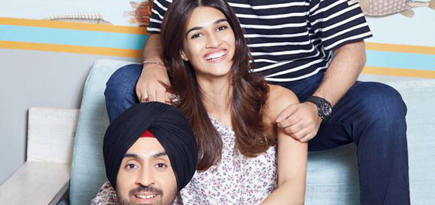 "Diljit Dosanjh, Kriti Sanon together in ""Arjun Patiala"""