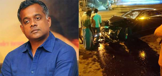 Gautham Menon injured in a car accident