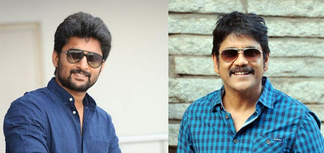 Nag - Nani's Film First To Be Shot In a Hyderabad Metro Train