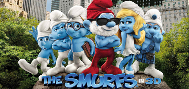 The Smurfs Showtimes