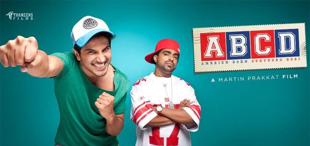 Jacob Gregory with Dulquer in 'ABCD'