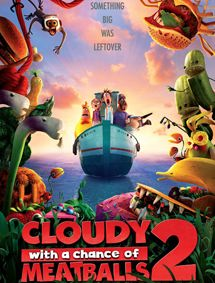 All about Cloudy with a Chance of Meatballs 2