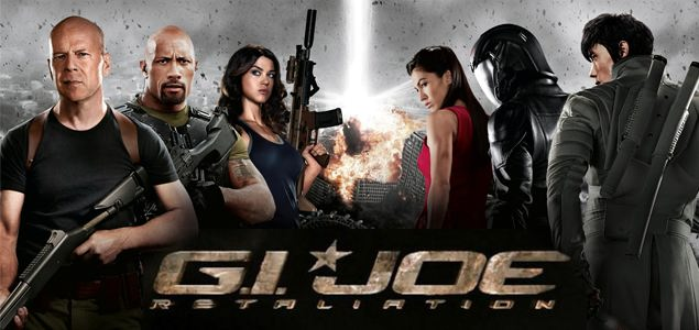 G.I. Joe: Retaliation Showtimes