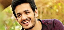 Nithin on Akhil debut movie title!