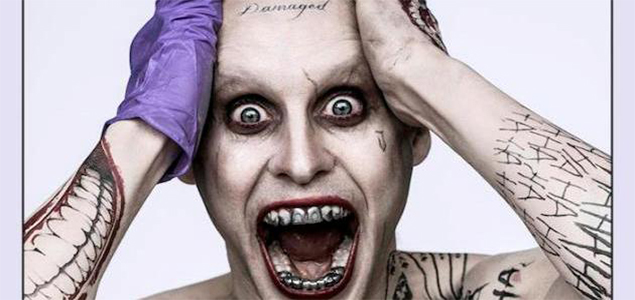 Suicide Squad - First Look at Jared Leto as Joker