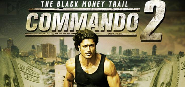 Vidyut Jamwal in 'Commando 2' - First Look Poster