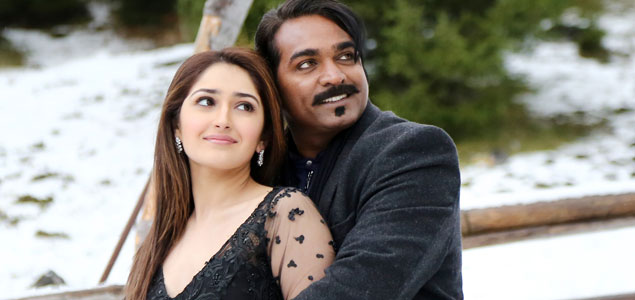 Vijay Sethupathi & Sayesha  in 'Junga' - New Stills