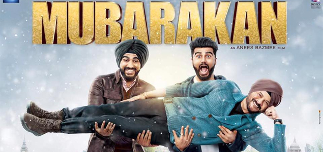 Anil Kapoor and Arjun Kapoor in 'Mubarakan' - First Look Poster