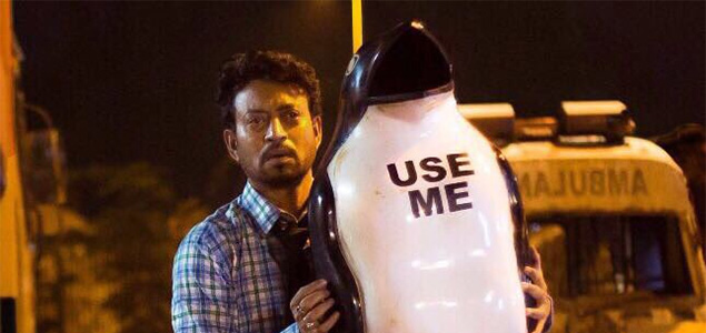 Irrfan khan's look from his upcoming movie Blackmail