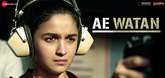 Here's the first song from Raazi