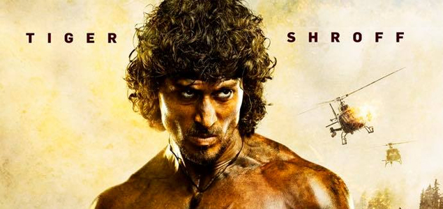 Tiger Shroff in & as 'Rambo' - First Look Poster