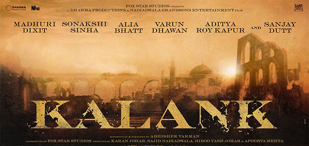 Poster of multi-starrer 'Kalank' unveiled