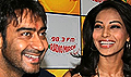 Ajay & Bipasha promote All the Best on radio