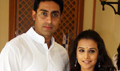 Abhishek & Vidya promote Paa with Bajaj Allianz