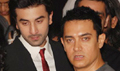 Aamir Khan, Ranbir, Arjun and Katrina at Raajneeti Premiere
