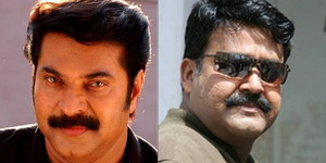 Mammootty and Mohanlal lose their heads in Kochi!