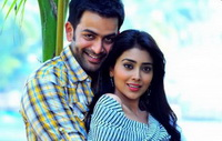 Prithvi with Shreya in London for 'Pokkiri Raja' song shoot