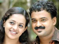 Kunchacko and Bhavana in 'Doctor Love'