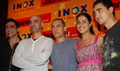 Aamir, Imraan & Genelia at Jaane Tu... Media meet