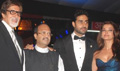Bachchans and Shahrukh at the premiere of Drona