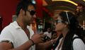 Ajay and Kajol watch Jumbo with kids