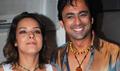 Udita Goswami, Ruslaan at Chase film bash