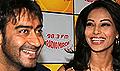 Ajay & Bipasha promote All the Best on radio