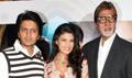 BigB, Ritesh & Jacqeline meet Godrej-Aladin contest winners