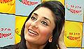 Kareena promotes Kurbaan on Radio Mirchi