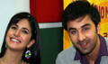Ranbir & Katrina promote APKGK on Radio Mirchi