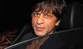 SRK at special screening of Kurbaan hosted by Karan Johar
