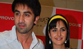 Ranbir and Katrina at Ajab Prem Ki Ghazab Kahani promotional event