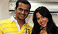 Sameera promotes De Dhana Dan on Meow 104.8 Radio