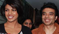 Priyanka and Uday at Radio City 91.1 FM studio to promote Pyaar Impossible