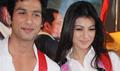 Shahid and Ayesha Takia on location of film Pathshala