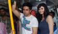 Emraan & Prachi Desai promote Once upon a time in Mumbai