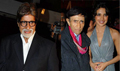 Big B and Priyanka grace Dev Anand's Chargesheet Premiere