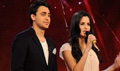 Imran and Katrina on the set's of India's Got talent